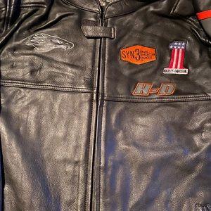 Harley Davidson Men Incinerator Leather jacket
